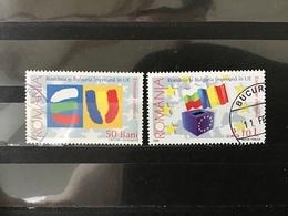Roemenië / Romania - Complete Set Roemenië In Europese Unie 2006 - 1948-.... Repúblicas