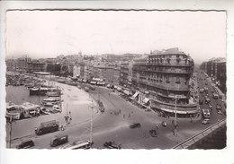 SP - 13 - MARSEILLE - Quai Du Port Et Rue Republique - Photo Carte - - Old Port, Saint Victor, Le Panier
