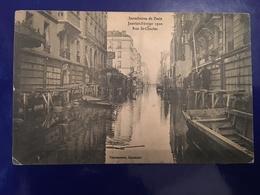 Ancienne Carte Postale - Inondation De Paris Janvier Février 1910 - La Crecida Del Sena De 1910