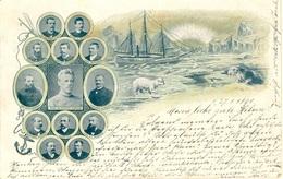 Nordpol Scott-Hansen, Amundsen,Nansen - Eventi