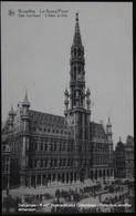 Bruxelles Brussel Brussels Grand Place Hôtel De Ville Stadhuis - Places, Squares
