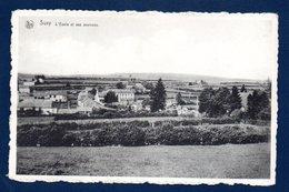 Suxy (Chiny). L'école Et Ses Environs. 1952 - Chiny