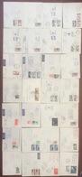 Lot De 28 Enveloppes De France Thématique Premier Vol, TB A Voir - Air Post
