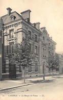 BANQUE DE FRANCE - CAMBRAI - Tres Bon Etat - Banques
