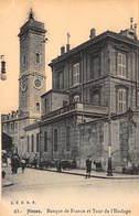 BANQUE DE FRANCE - NIMES : Tour De L'horloge - Tres Bon Etat - Banques