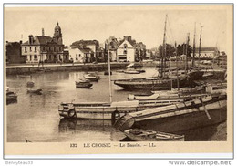 CPA (Réf. P053)  LE CROISIC - Le Bassin - Le Croisic