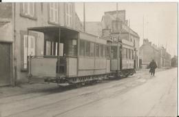 Photo - TER  - Tramway En Gros Plan à Cherbourg - Manche - 50  - Pub - Trains