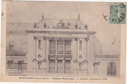 52 - CHAUMONT (Haute-Marne) - Théâtre Municipal - J. Moiton, Architecte 1920 - Chaumont