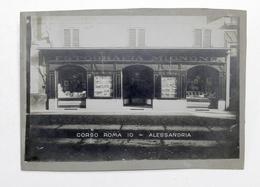 Collezionismo - Fotografia D'epoca Di Alessandria - Corso Roma 10 - Anni '20 - Foto