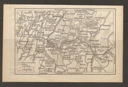 CARTE PLAN 1931 - OYONNAX NANTUA CHEZERY St GERMAIN De JOUX CHATILLON De MICHAILLE MONTREAL - Topographische Kaarten
