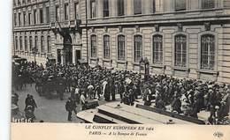 BANQUE DE FRANCE - PARIS : Le Conflit Européen En 1914 - Tres Bon Etat - Banques
