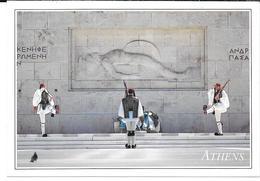 Cpsm Athènes / Tombe Du Soldat Inconnu - Garde Royale . - Greece