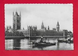 CARTOLINA VG REGNO UNITO - LONDON - Houses Of Parliament - 10 X 15 - ANN. 1955 - Houses Of Parliament