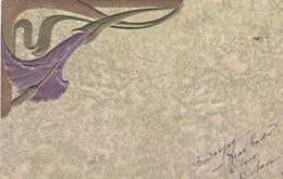Liberty  -  Il Fiore Viola  -  Edit  .B R W   451 - Stampa In Rilievo - Fiori