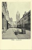 Ypres -- Rue De Lille.   (2 Scans) - Ieper