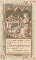 MOOI OUD HEILIG PRENTJE .VAN H.EGIBIUS  PATROON VAN ST.GILLIS WAAS - Religion & Esotérisme