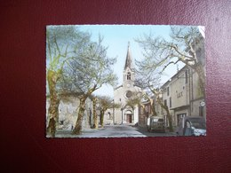 Carte Postale SM De Sainte-Cécile-les-Vignes: L'Eglise ( Cinéma Lux, Estafette) - France