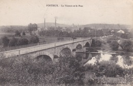 PORTIEUX - VOSGES -  (88)  -  PEU COURANTE CPA 1918. - France
