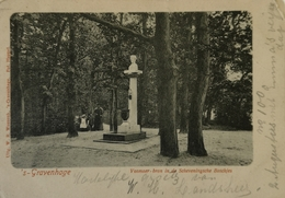 Den Haag ( 's Gravenhage) Vosmaer Bron In De Scheveningsche Boschjes Ca 1900 - Den Haag ('s-Gravenhage)
