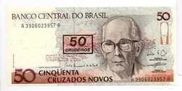 - Billet 50 CRUZADOS - BANCO CENTRAL DO BRASIL - - Brasilien