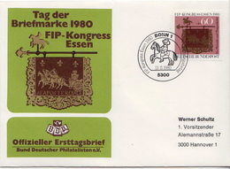 Postal History: Germany Cover With Special Cancel - Philatelic Exhibitions
