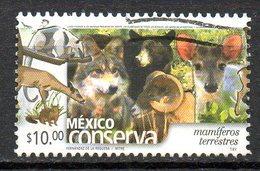 MEXIQUE. N°1991 Oblitéré De 2002. Loup/Ours. - Timbres