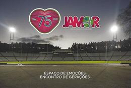 """PORTUGAL - PAP + Postmark """"75 Years Of The National Stadium Of JAMOR"""" - (National Postage Paid N20g) - Football"""