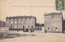 Haute-Loire - Langeac - Ecole Publique De Garçons - Langeac