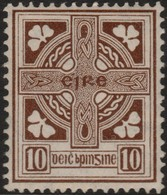 ~~~ Ierland Ireland 1922/1923 - National Symbols WM SE - Mi. 50 A * MH - CV 60.00 Euro ~~~ - Ongebruikt