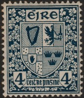 ~~~ Ierland Ireland 1922/1923 - National Symbols WM SE - Mi. 46 A * MH - CV 11.00 Euro ~~~ - Ongebruikt