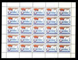 Russia 1960 Mi 2366  MNH OG  Sheet - Full Sheets