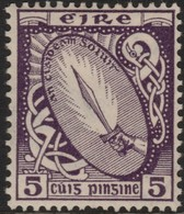 ~~~ Ierland Ireland 1922/1923 - National Symbols WM SE - Mi. 47 A * MH - CV 80.00 Euro ~~~ - Ongebruikt