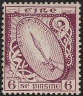~~~ Ierland Ireland 1922/1923 - National Symbols WM SE - Mi. 48 A * MH - CV 17.00 Euro ~~~ - Ongebruikt