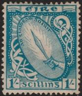 ~~~ Ierland Ireland 1922/1923 - National Symbols WM SE - Mi. 51 A * MH - CV 180.00 Euro ~~~ - Ongebruikt