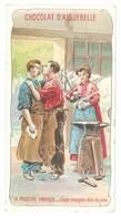 Chromo Chocolat Aiguebelle : La Médecine Pratique - Corps étrangers Dans Les Yeux ( Maréchal Ferrant, Enclume ) - Aiguebelle
