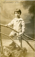 NIÑO, BOY, CHILD, ENFANT, GARÇONS. POSTAL CIRCA CPA 1910's NOT CIRCULATED -LILHU - Retratos