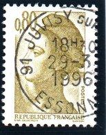 Type LIBERTE - 80c Brun-olive  N° 2241 Obl. - Francia
