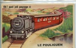 CARTE A SYSTEME LE POULIGUEN - Le Pouliguen