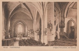 Ver--------parthenay  Notre Dame De La Couldre - Parthenay