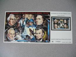 Carte Postale  Laos  1976 - Bi-centenaire Des Etats-Unis D'Amérique  Tirage  N° 10414 - Laos
