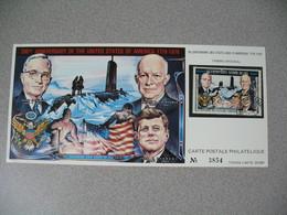 Carte Postale  Laos  1976 - Bi-centenaire Des Etats-Unis D'Amérique  Tirage  N° 3854 - Laos
