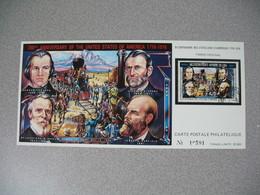 Carte Postale  Laos  1976 - Bi-centenaire Des Etats-Unis D'Amérique  Tirage  N° 10591 - Laos