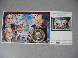Carte Postale  Laos  1976 - Bi-centenaire Des Etats-Unis D'Amérique  Tirage  N° 7778 - Laos