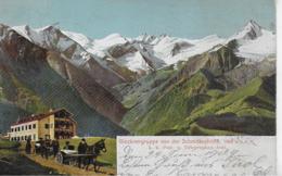 AK 0255  Zell Am See - Glocknergruppe Von Der Schmittenhöhe / Verlag Haschke Um 1909 - Zell Am See