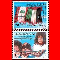 LIBYA - 1984 Palestine Israel Lebanon Flags Children (MNH) - Libyen