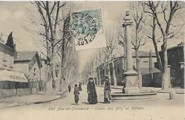 13, Bouches Du Rhone, AIX EN PROVENCE, Cours Des Arts Et Métiers, Scan Recto Verso - Aix En Provence