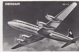 Swissair - DC-7c - 1961     (P-169-70607) - 1946-....: Era Moderna