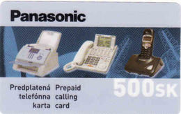 Slovaquie, Slovak Private Prepaid Card Panasonic, Limited Issue - Slovaquie