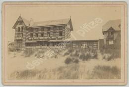 Cabinet 1893 F. De Mauny à Boulogne-sur-Mer . Le Touquet-Paris Plage . Le Grand Hôtel Rue St-Louis Et Bd De La Mer - Photos