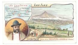 Chromo Chocolat Aiguebelle : Les Iles - Le Pic De Ténérife, Les Canaries - Aiguebelle